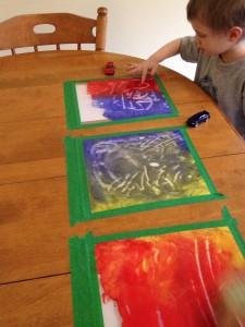 actividades de pintura para hacer con niños