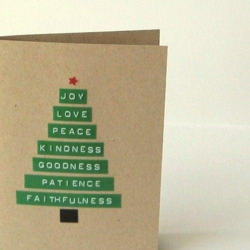 Ideas para hacer postales de navidad verdemarengo - Ideas postales navidad ...