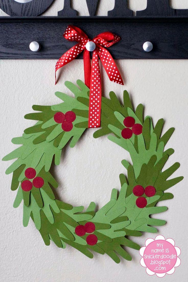Manualidades Para Ninos En Navidades Verdemarengo - Manualidades-con-nios