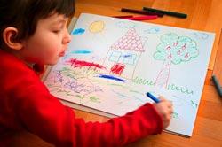 kid drawing Verdemarengo
